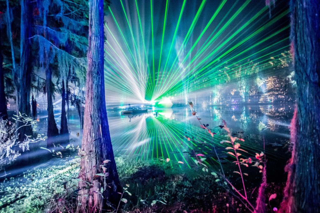 Spirit Lake, captured by Dave Vann for Suwannee Hulaween 2016